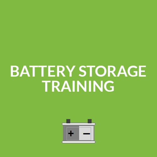 Battery Storage Training Course