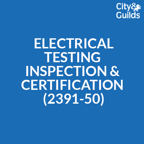 Electrical Testing Inspection and Certification 2391-50