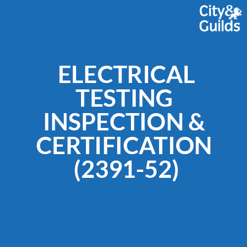 Electrical Testing Inspection and Certification 2391-52