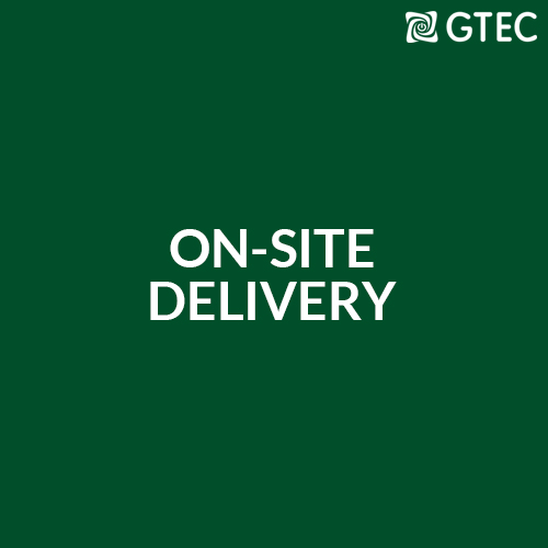 On-site Delivery Training from GTEC